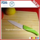 "3"" Small White Black Color Handle Ceramic Paring Knife"