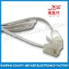 White 1.5m indoor Telephone line