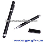 2 in 1 capacitive touch screen stylus ball point pen for iphone and ipad