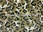 cheetah Printed Plush fabric toy plush