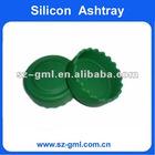 round silicone Ashtray
