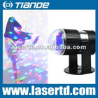 Cheap mini protable RGB led stage lighting projector TD-GS-26