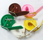 2013 Fashionable silicone waist belts