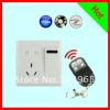 New Switch Socket Hidden Camera with remote control Motion Detection F2