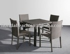 New Combined Rattan Dinning Set, Rattan Table and Chair
