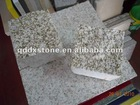 G682 Yellow Rusty Granite Cube Stone