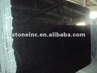 black galaxy granite stone slab