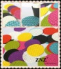 Table Mat, Woven Vinyl table runner and Coaster - colorful by ZNZ