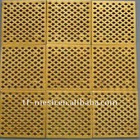 Brass Perforated Metal ( 1/6inch holes)