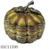 metal fake pumpkin