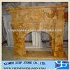 Home indoor fireplace