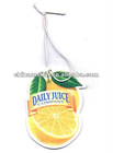 Paper air freshener for promotion