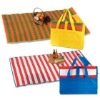 Bag beach mat