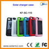 Manufacturer design rechargeable portable solar power battery charger case for Iphone4/4s with CE,ROHS,FCC