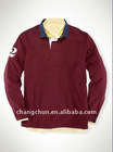 2011 New arrival long sleeve polo t shirt for men's