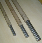 chrome plated rods pack in the paper tube.