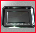 stainless steel food tray plate