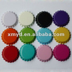 Metal Colored Bottle Caps for Crafts Decoration, DIY Jewelry Accessories Without Liners, Free Shipping by Speedy Post