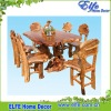 wooden root living room furniture