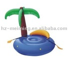 pvc air mattress / lounge chair with coconut tree