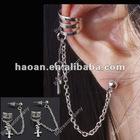 earring cuff chain