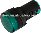 AD16-22D/S pure green 22mm led indicator lamp