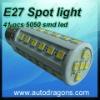 220V-240V E27 spot house led light with 41 pcs 5050 smd