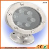 stainless steel IP68 RGB led underwater light