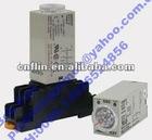 AC220V H3Y-2 Delay Timer Time Relay 0-60 Second 12VDC & Base