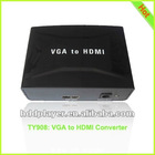 VGA to HDMI Converter,pc to tv converter vga to ypbpr,1080P HDTV Converter,PC to TV HDMI Converter,usb pc to tv converter
