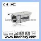 HD SDI cctv box camera with dot matrix high power ir leds