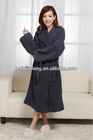 unisex solid color terry bathrobes