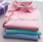 Pure color polo shirt