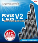 "BeamsWork 17"" LED 300 Super Slim LED Aquarium Light fixture Fish Tank lamp energy saving, Fits Tank 45 -55cm CE"
