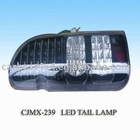 HIACE 2005 RECONFIGURE III LED CRYTAL TAIL LAMP(BLACK)