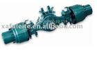 Heavy hub reduction drive axle