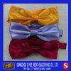 Satin Yellow Bow Ties in Stock