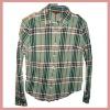2012 Beautiful plaid shirt for man