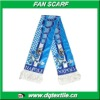 satin polyester material napoli football team Fan Scarf