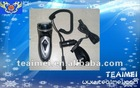 High quality car shaver, electric shaver for car, with home charger, car charger and chean brush