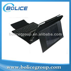 Hot! 2012! solar ipad case with bluetooth keyboard