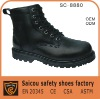 Guangzhou steel toe army boots factory (SC-8880)