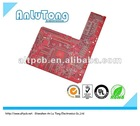 2012 inverter FR4 94vo pcb with solder mask