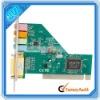 Best 4 Ch C-Media Audio PCI Internal PC Sound Card D3 (CT017)