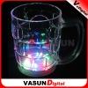 LED flashing colourful shake glass cup