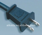American standard power cord electrical plug with connector YY-2B