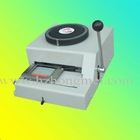 PVC card embosser machine