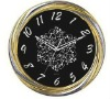 analog beautiful new design metal wall clock