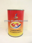 best selling canned sardines 155g in tomato sauce