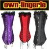 colourful sexy corset set w3057
